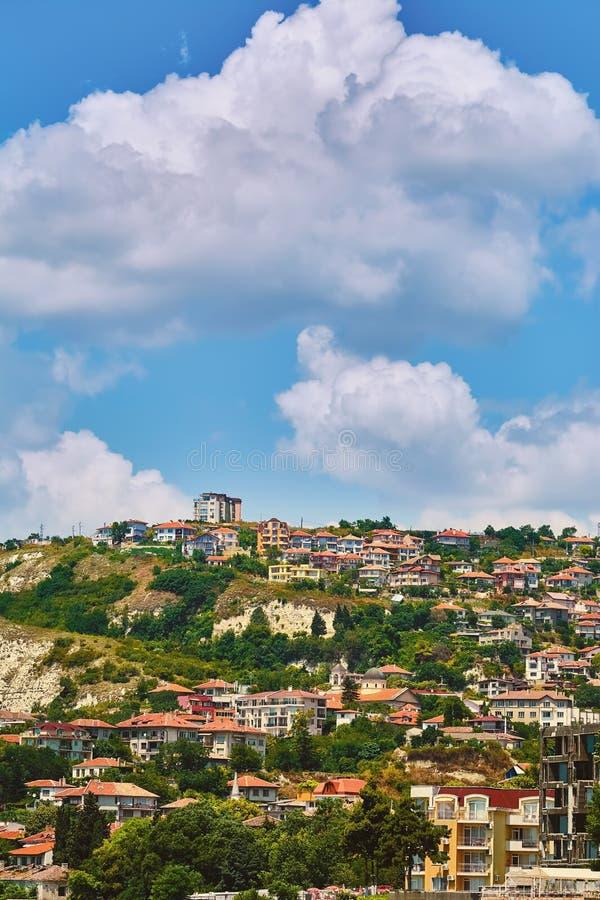 Cidade pequena em Bulgária imagem de stock royalty free