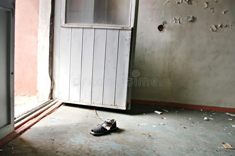 Cidade perdida Pripyat imagens de stock royalty free