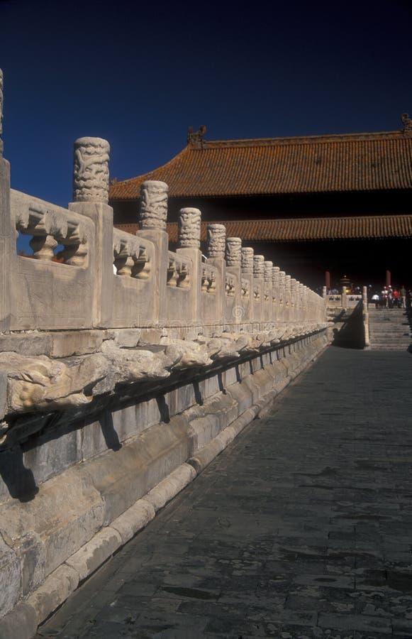 Cidade proibida, Beijing imagem de stock