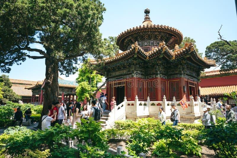 Cidade proibida, Beijing, China fotografia de stock royalty free