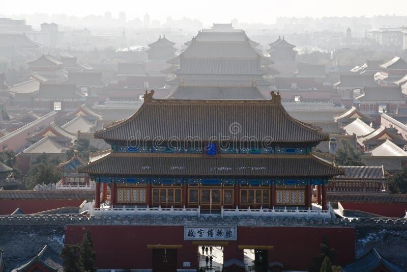 Cidade proibida, Beijing, China foto de stock royalty free