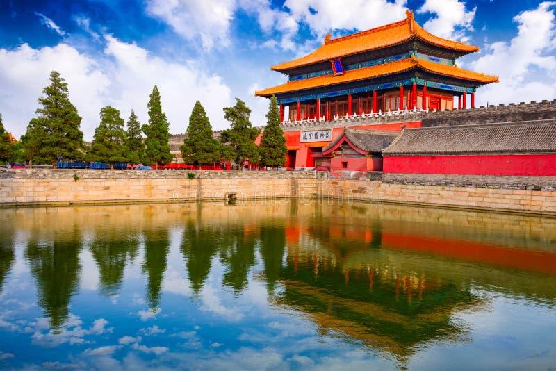 Cidade proibida de Beijing fotografia de stock