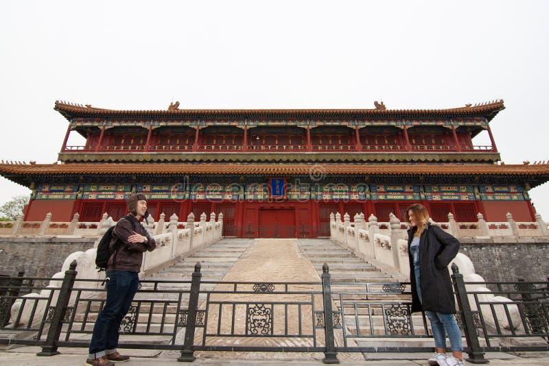 A cidade proibida em China fotografia de stock