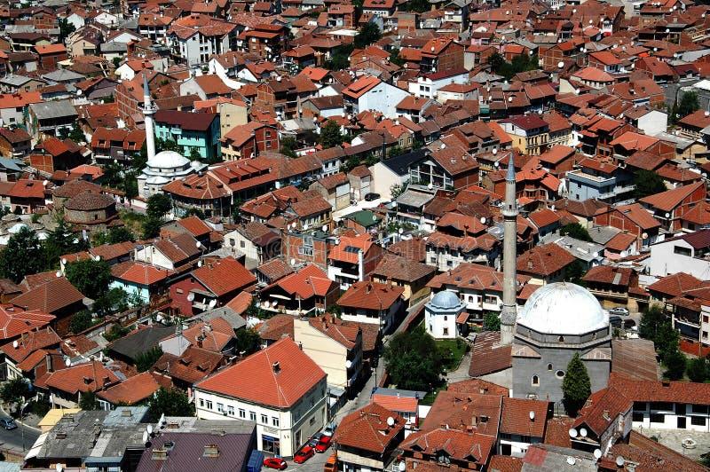 Cidade sérvio velha Prizren imagens de stock royalty free