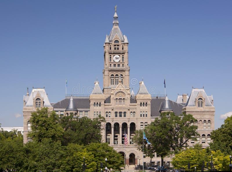 Cidade salão & edifício do condado imagem de stock royalty free