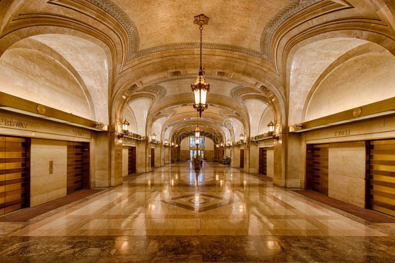 Cidade salão de Chicago foto de stock royalty free
