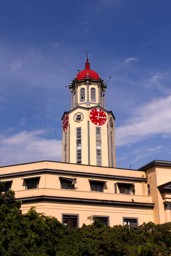 Cidade salão de Manila imagens de stock