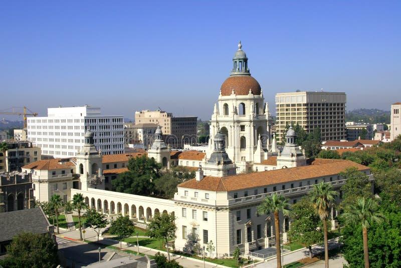 Cidade salão de Pasadena imagens de stock royalty free