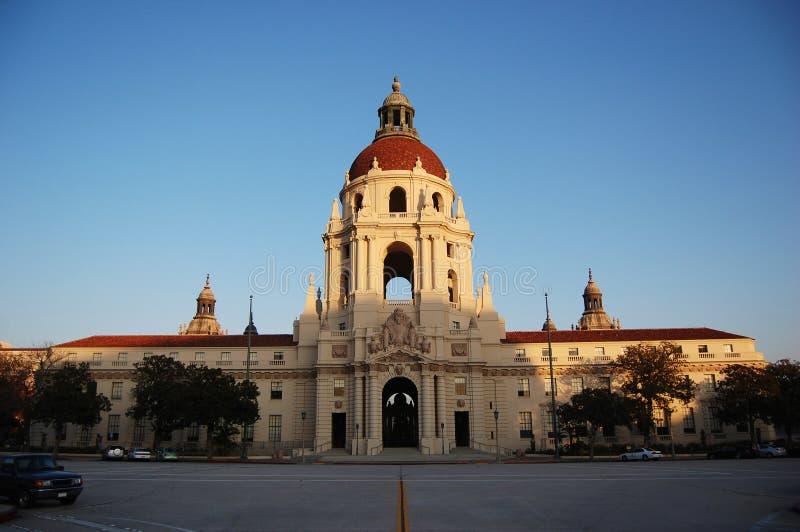 Cidade salão de Pasadena, Los Angeles, Califórnia foto de stock
