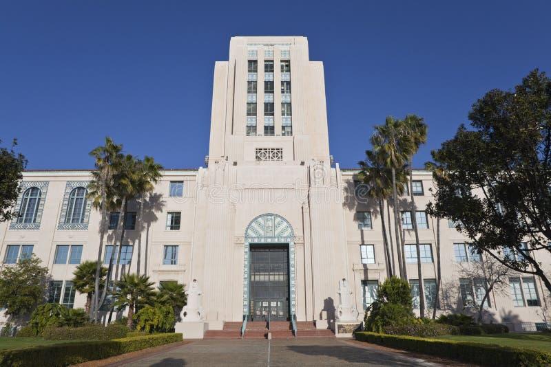 Cidade salão de San Diego imagens de stock royalty free