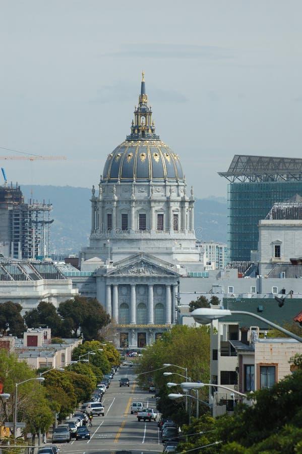 Cidade salão de San Francisco foto de stock royalty free