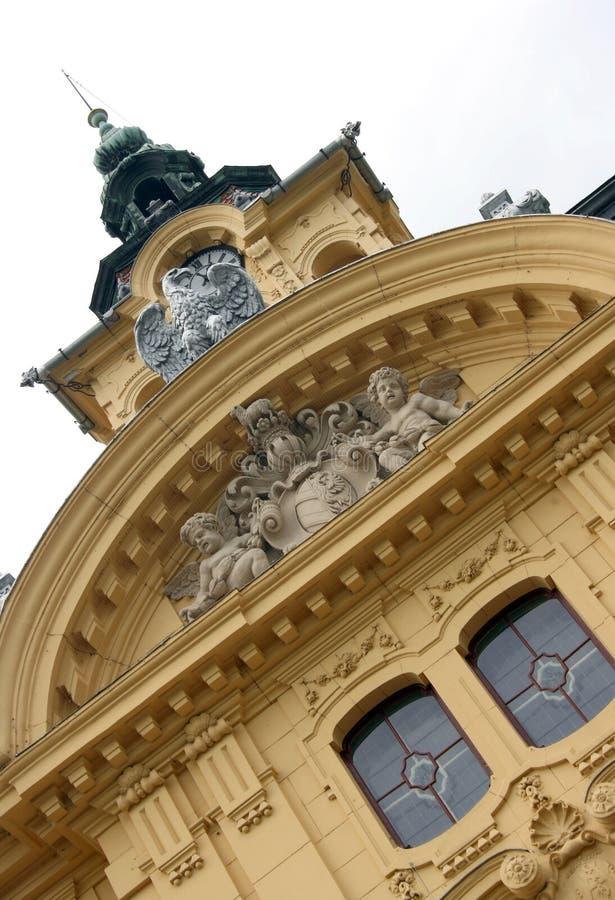 Cidade salão de Szeged foto de stock royalty free