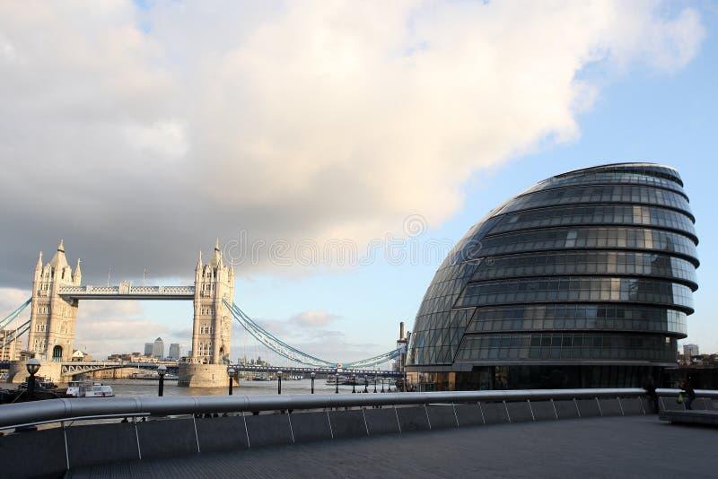 Cidade salão Londres, Inglaterra foto de stock royalty free