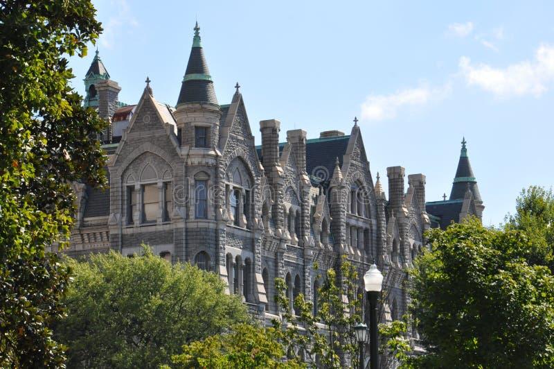 Cidade salão velha em Richmond, Virgínia imagem de stock royalty free