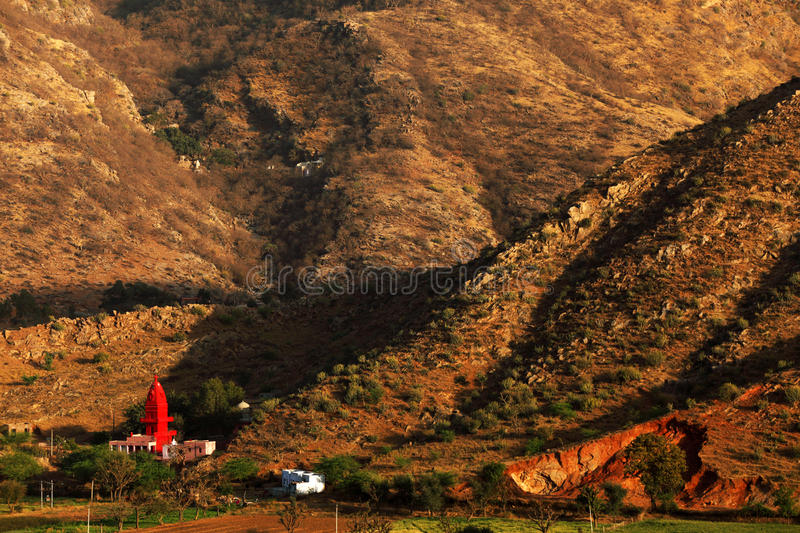 Cidade santa de Pushkar imagens de stock