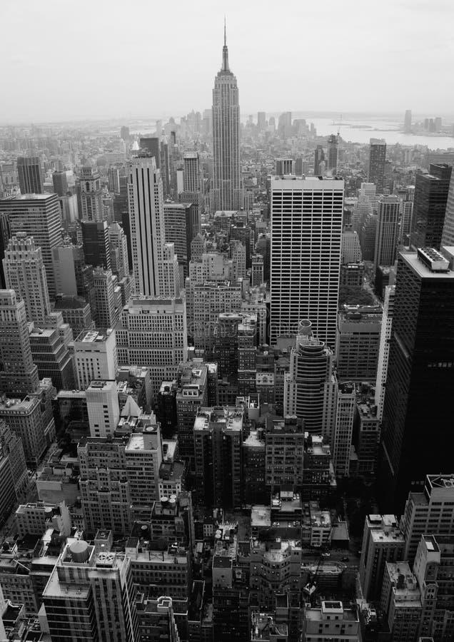 Cidade Scape de Manhattan fotografia de stock royalty free