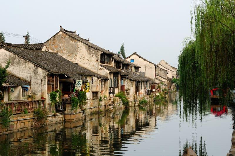 Cidade Shanghai de Fengjing fotos de stock