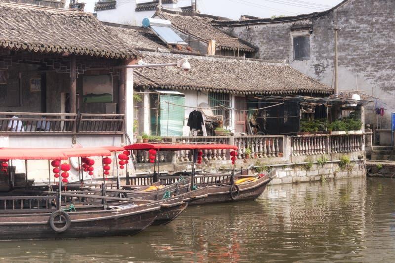 Cidade Shanghai de Fengjing imagem de stock