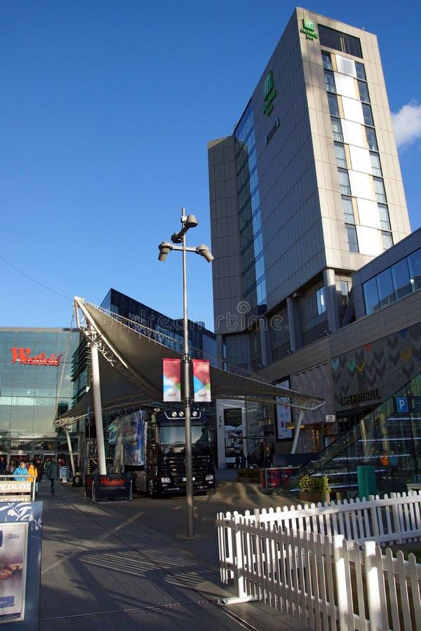 Cidade super da compra de Westfield imagens de stock