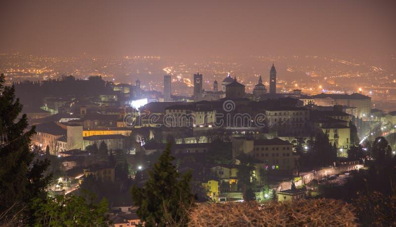Cidade superior Bergamo foto de stock royalty free