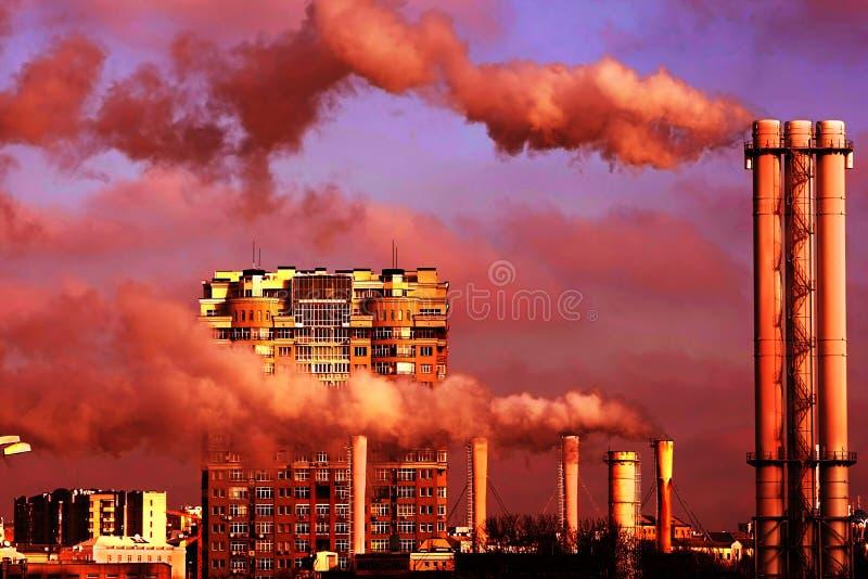 Cidade urbana foto de stock royalty free