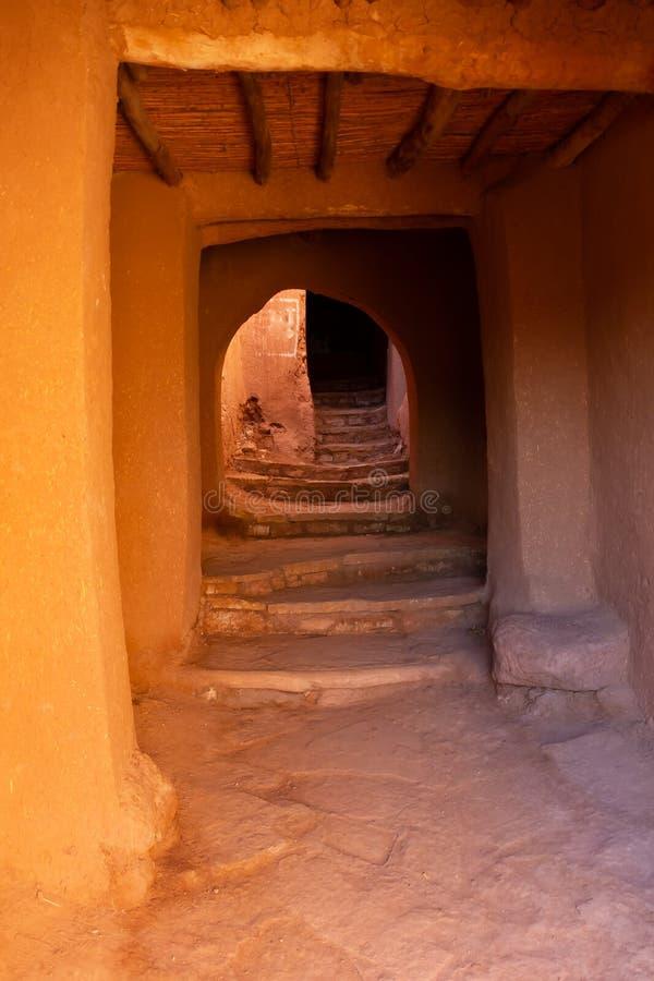 Cidade velha antiga bonita Ait Benhaddou perto de Ouarzazate, atlas, Marrocos imagens de stock