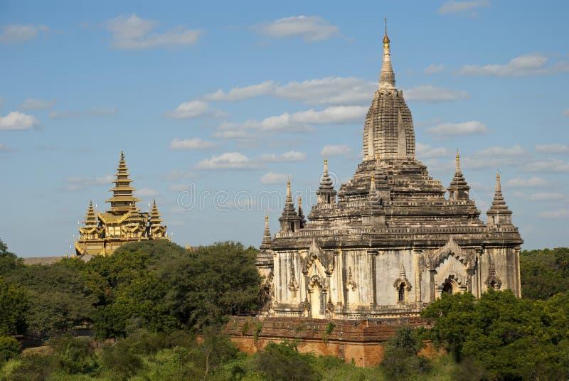 Cidade velha Bagan fotografia de stock