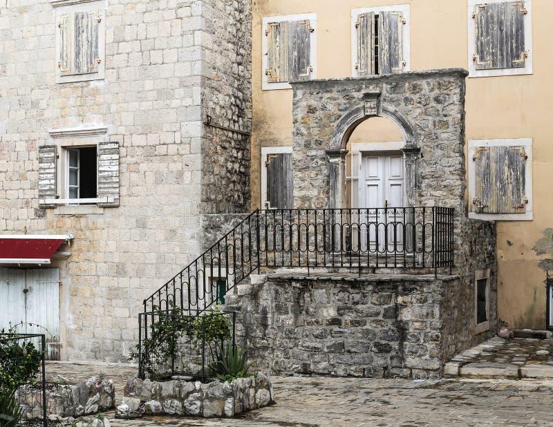 Cidade velha Budva, Montenegro imagem de stock royalty free