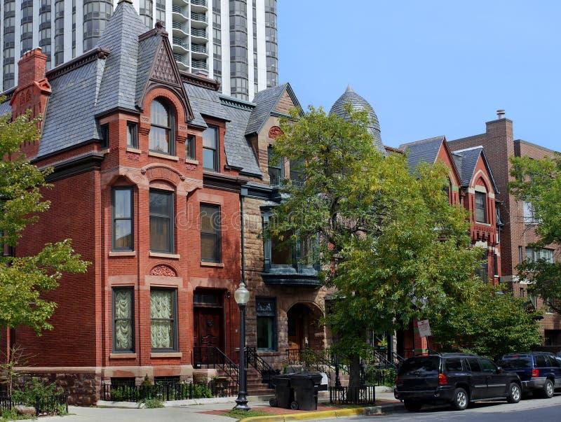 Cidade velha Chicago fotos de stock
