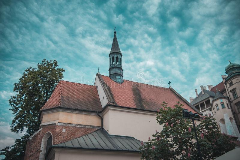 Cidade velha Cracow fotografia de stock
