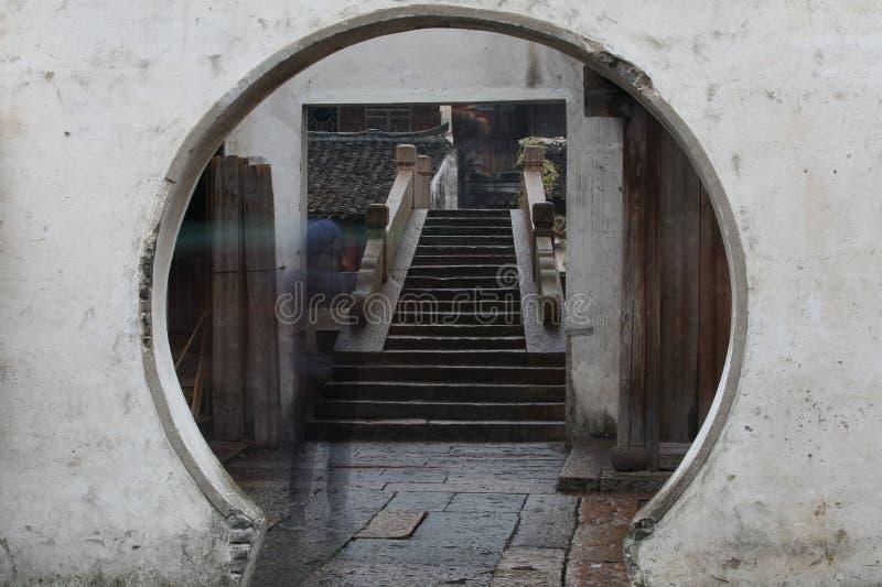 Cidade velha da água de China imagem de stock royalty free