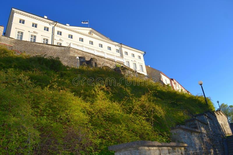 Cidade velha da opinião de Tallinn Estónia imagem de stock