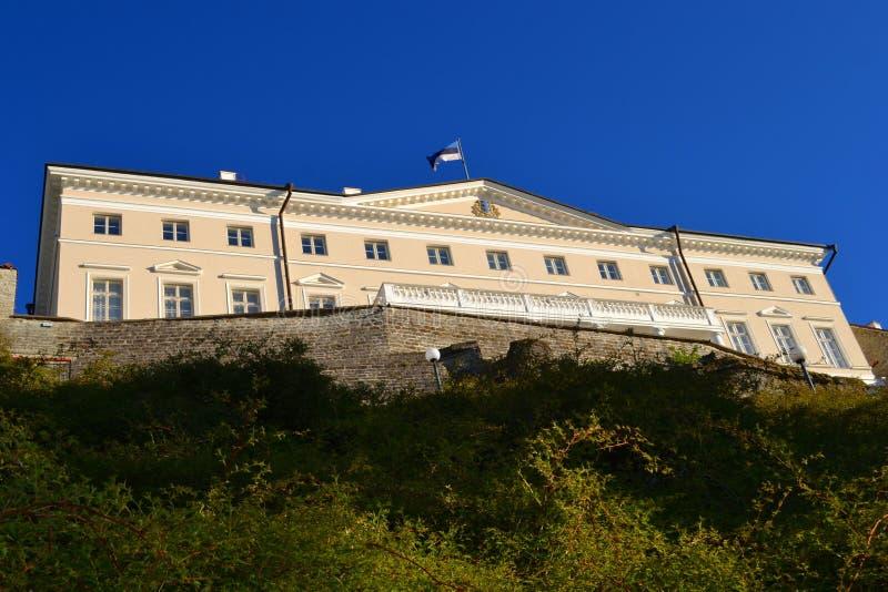 Cidade velha da opinião de Tallinn Estónia fotografia de stock