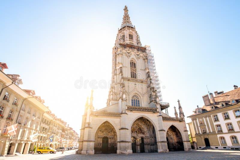 Cidade velha de Berna em Suíça fotografia de stock