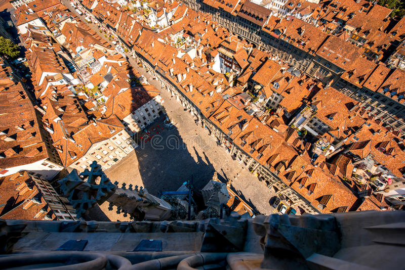 Cidade velha de Berna em Suíça fotos de stock