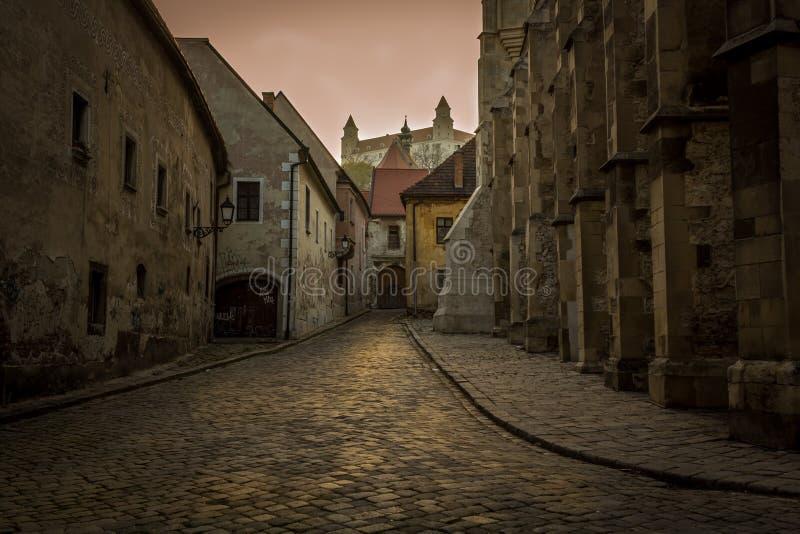 Cidade velha de Bratislova fotografia de stock