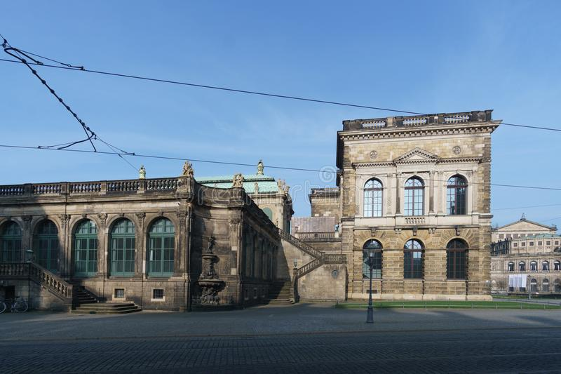 Cidade velha de Dresden imagens de stock royalty free