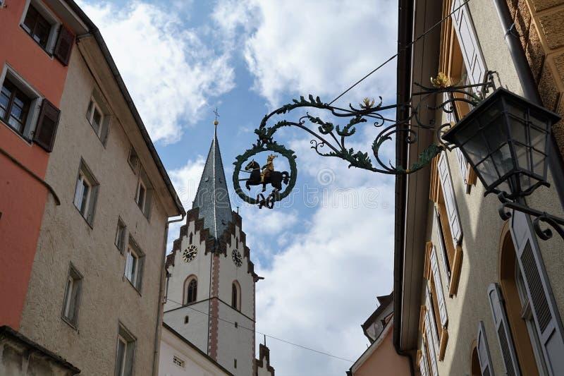 Cidade velha de Engen em Alemanha imagem de stock
