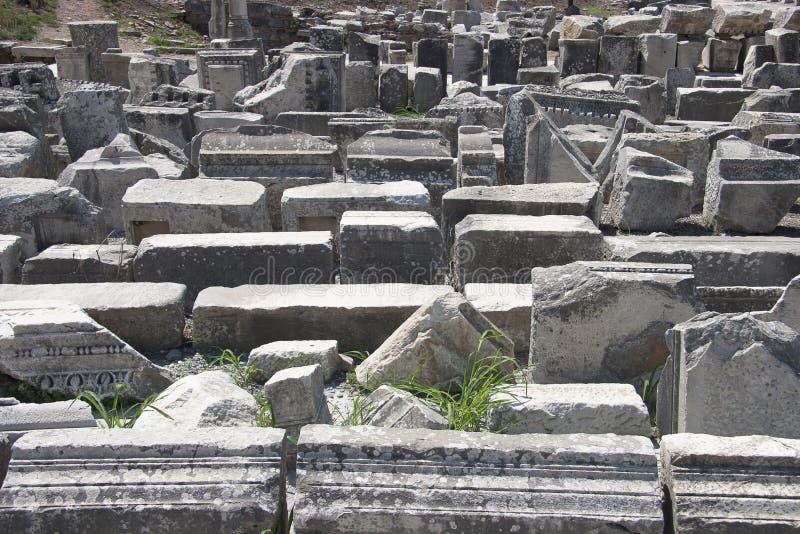 Cidade Velha De Ephesus. Turquia Imagens de Stock Royalty Free