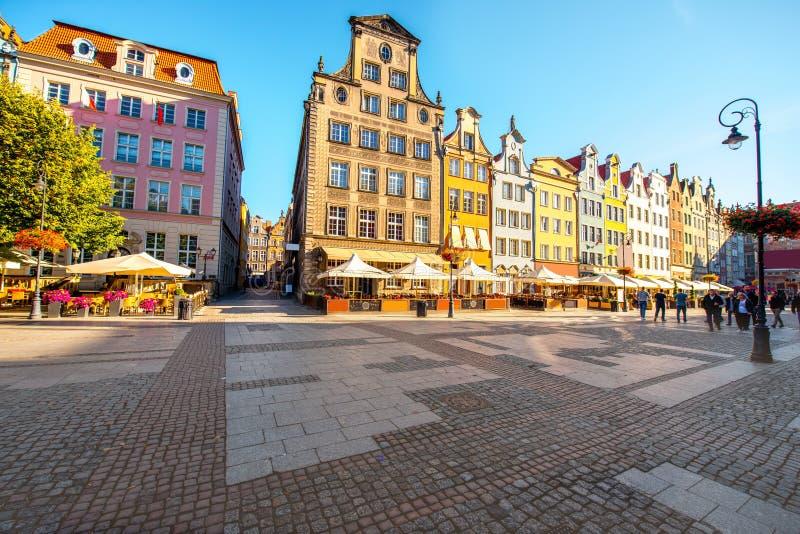 Cidade velha de Gdansk fotografia de stock royalty free