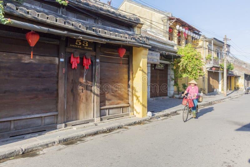 Cidade velha de Hoi An, província de Quang Nam, Vietname fotos de stock royalty free