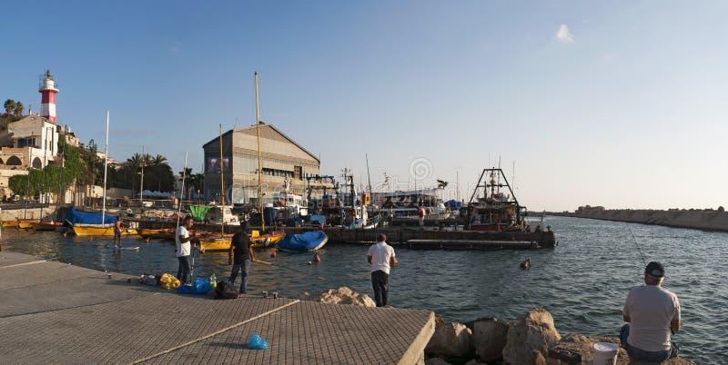Cidade velha de Jaffa, Israel, Médio Oriente imagem de stock