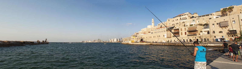 Cidade velha de Jaffa, Israel, Médio Oriente fotos de stock royalty free