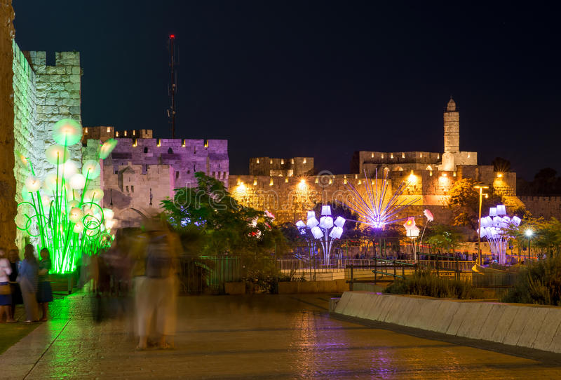 Cidade velha de Jerusalem foto de stock royalty free
