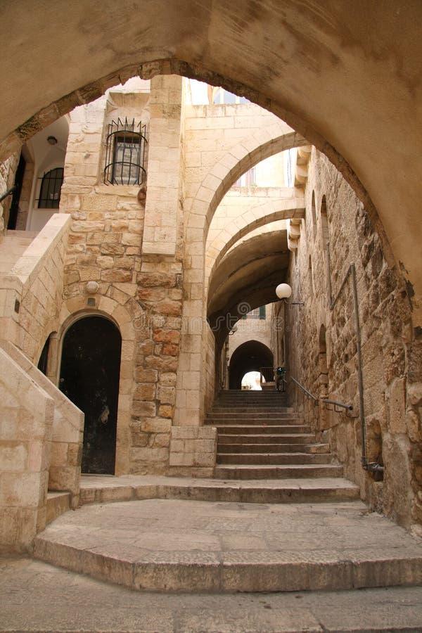 A cidade velha de Jerusalem imagem de stock