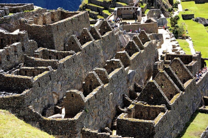 Cidade velha de Machu Picchu - Inca - Peru America imagem de stock