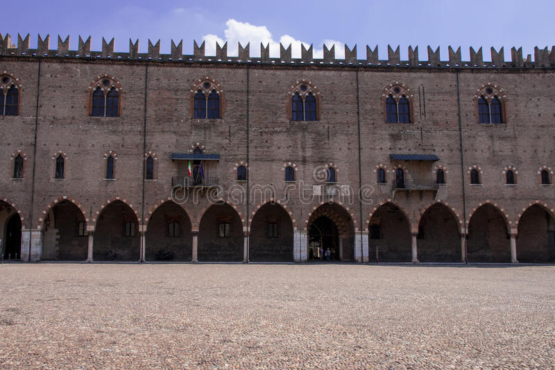 Cidade velha de Mantova foto de stock royalty free