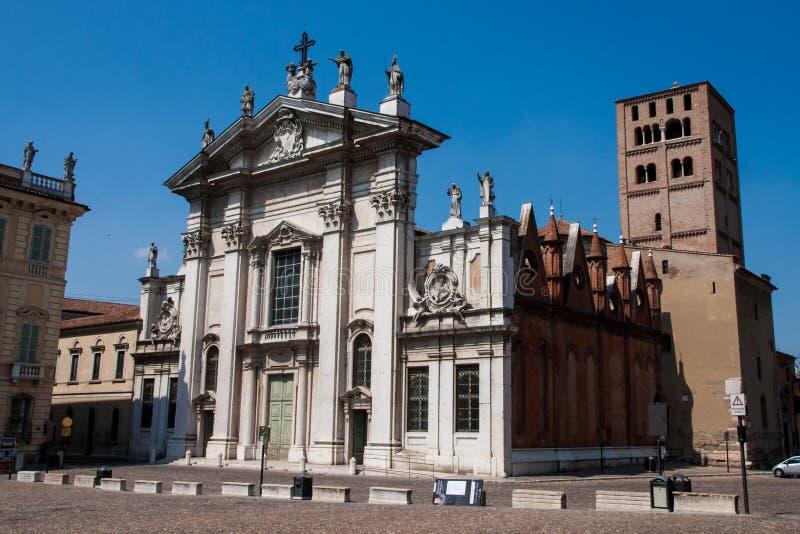 Cidade velha de Mantova fotografia de stock