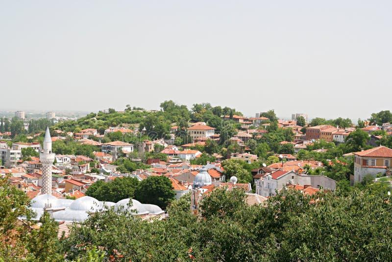 Cidade velha de Plovdiv imagem de stock