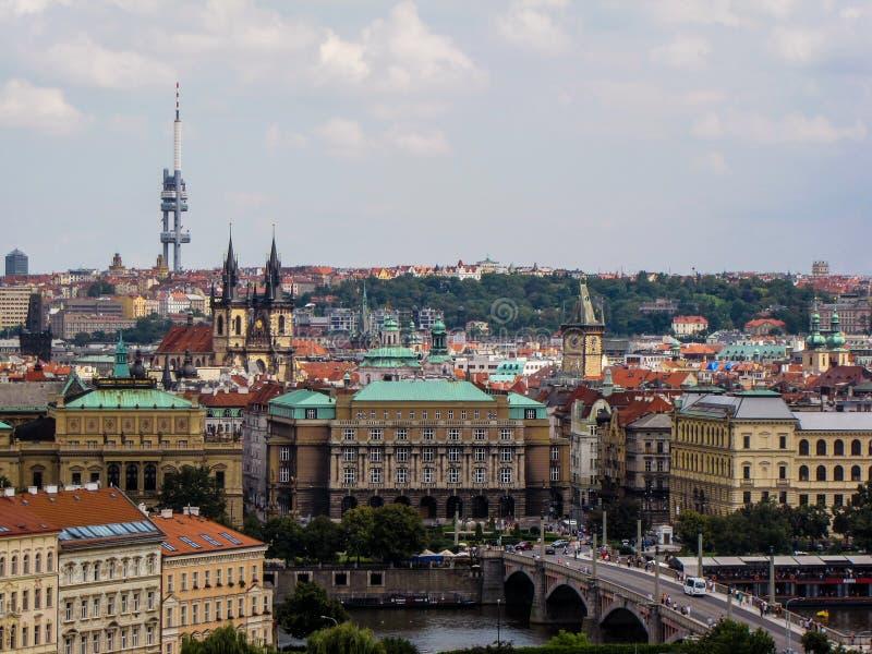 Cidade velha de Praga fotos de stock royalty free